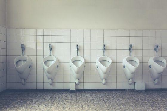 たくさんのトイレ