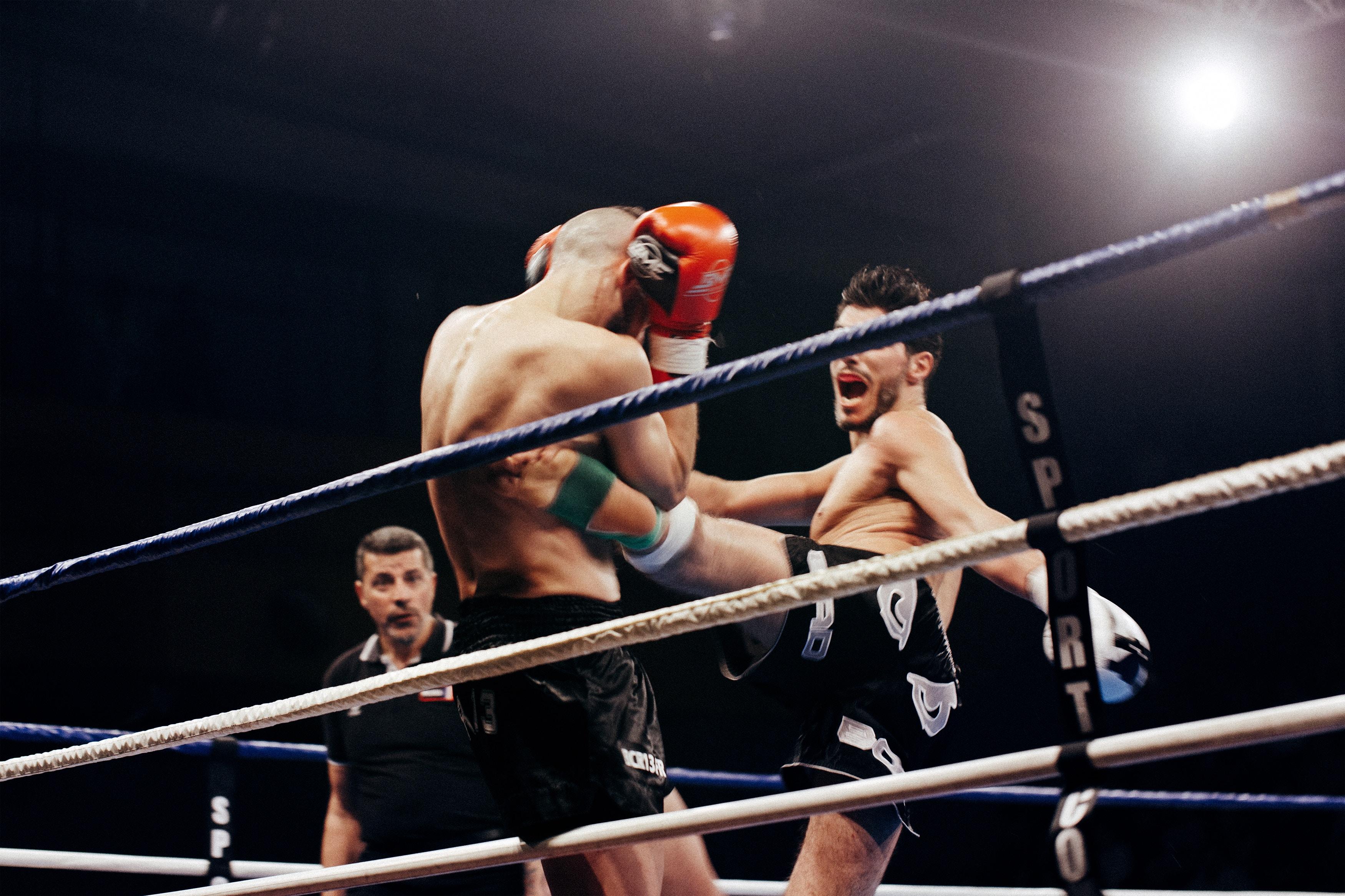 ストレス発散にはボクシング!