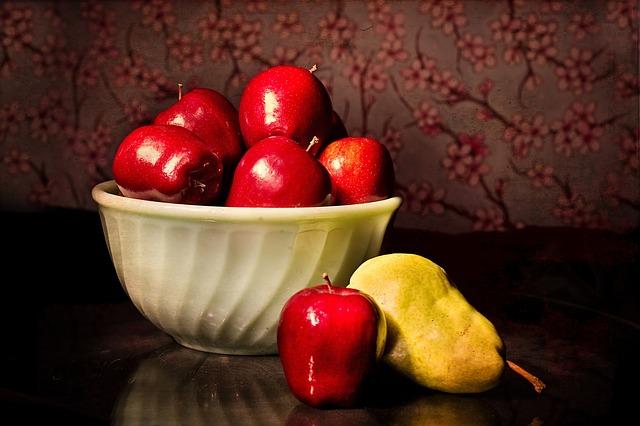 りんごとラフランス
