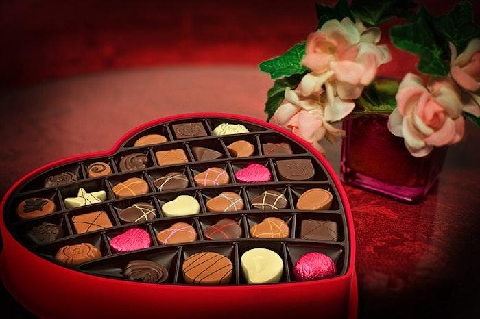 バレンタインでチョコレートをもらった