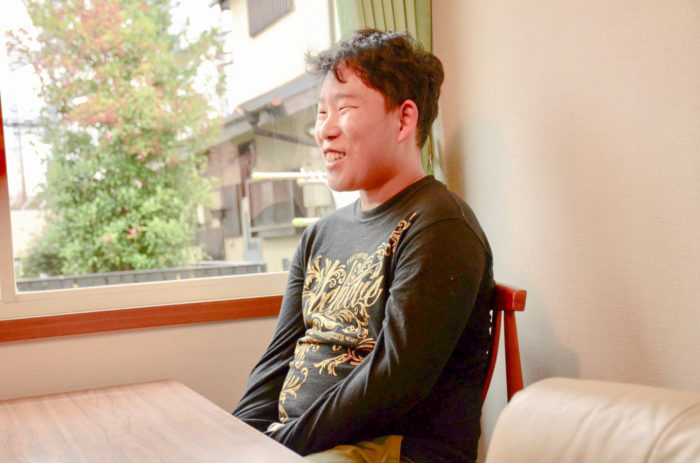快くインタビューに応じてくださる山本さん